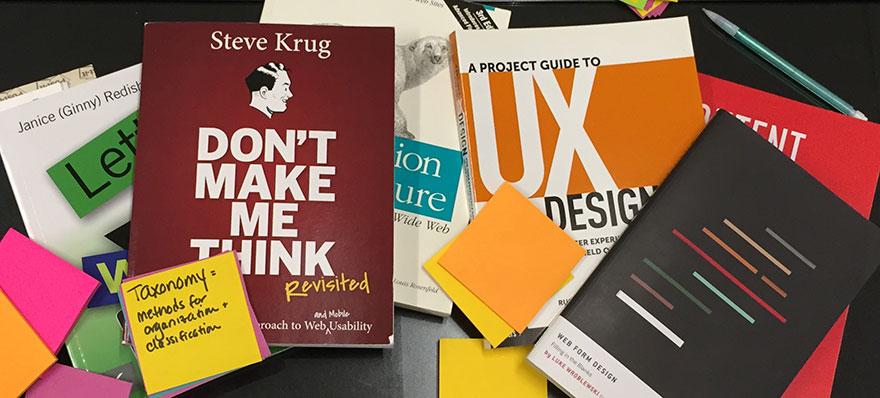 UX'e Yeni Başlayanların Kitaplığı için Önerilen Kitaplar